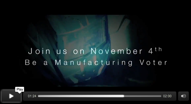 Manufacturing Voter screenshot